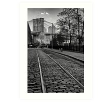 Abandon Railway Dumbo Art Print