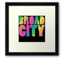 Broad City TV Series Logo Framed Print