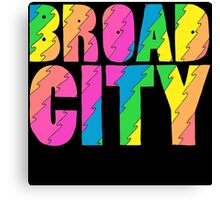 Broad City TV Series Logo Canvas Print