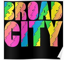 Broad City TV Series Logo Poster
