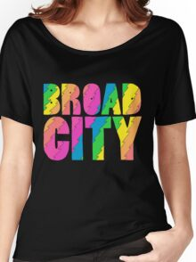 Broad City TV Series Logo Women's Relaxed Fit T-Shirt