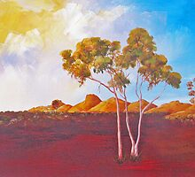 Red Centre Dawn by Faye Doherty