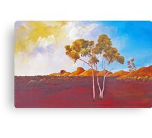 Red Centre Dawn Canvas Print