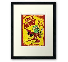 S.P.A.C.E. Wars Framed Print