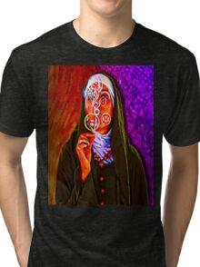 The Nun's Bubbles Tri-blend T-Shirt