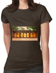 Bethesda Terrace Womens Fitted T-Shirt
