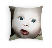 A Wee Surprised Throw Pillow