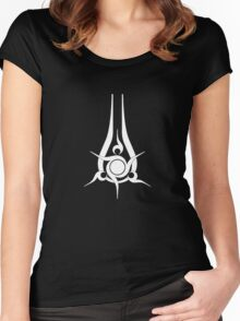 Halo 5 Swords of Sanghelios Women's Fitted Scoop T-Shirt