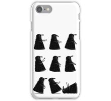Ministry of Dalek Silly Walks iPhone Case/Skin