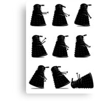 Ministry of Dalek Silly Walks Canvas Print