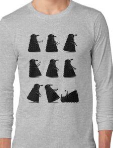 Ministry of Dalek Silly Walks Long Sleeve T-Shirt