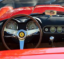 1963 Ferrari Steering Wheel by Jill Reger