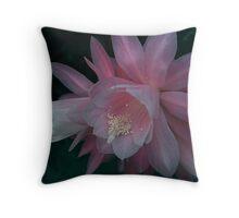 Princess Cactus Flower Throw Pillow