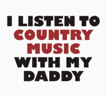 Country Music With My Daddy One Piece - Long Sleeve