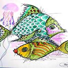 2 colors fish by patricemassa