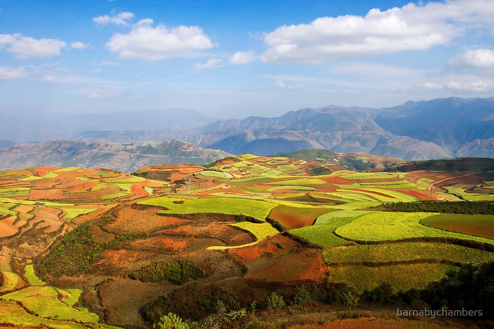 Dongchuan 1 by barnabychambers