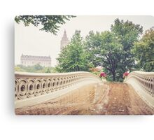 Rainy On Bow Bridge Canvas Print