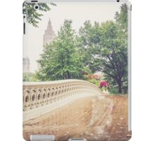 Rainy On Bow Bridge iPad Case/Skin