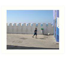 marocan street life  Art Print