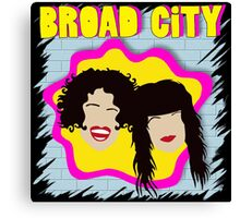 Broad City TV Series Logo 2 Canvas Print
