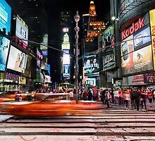 Times Square  by Randy  LeMoine