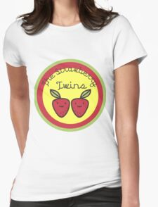 The Strawberry Twins Womens Fitted T-Shirt