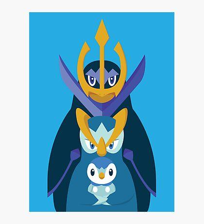 Awkward Penguin Portrait Photographic Print
