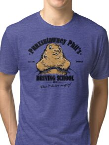 Punxsutawney Phil's Driving School Tri-blend T-Shirt