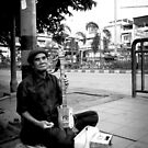 Blind Street Musician by vanyahaheights