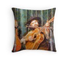 The  Jerilderie Musician Throw Pillow