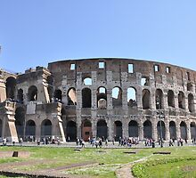The Coliseum, Rome by Lilith Bill