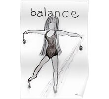 Balance © Vicki Ferrari Poster