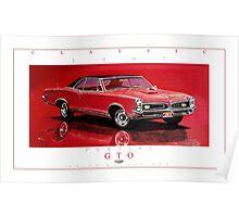 1967 Pontiac GTO ver 2 Poster