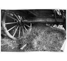 Wagon Wheel - Monte Christo Homestead, Junee NSW Australia Poster