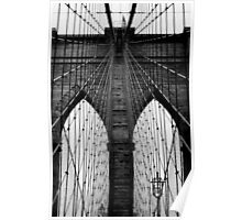 Brooklyn Bridge Profile Poster