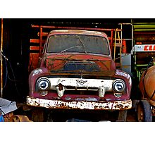 CLASSIC-TOW-TRUCK Photographic Print