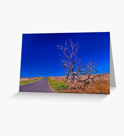 """Blue Skies from Here On"" Greeting Card"
