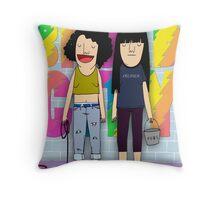 Broad City TV Series Logo 3 Throw Pillow