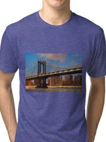 Manhattan Bridge Tri-blend T-Shirt
