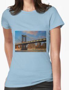 Manhattan Bridge Womens Fitted T-Shirt