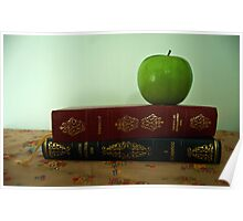 Still Life With Apple Poster