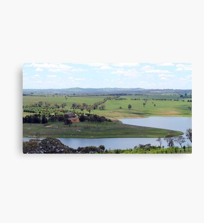 Carcoar Lake Landscape Canvas Print