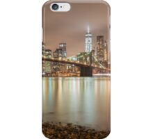 Brooklyn Bridge at Dusk iPhone Case/Skin