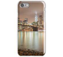 Brooklyn Bridge at Dusk iPhone Case/Skin