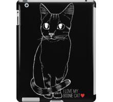 Sketchy Boonie Cat iPad Case/Skin