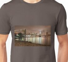 Brooklyn Bridge at Dusk Unisex T-Shirt
