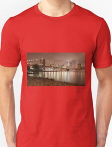 Brooklyn Bridge at Dusk T-Shirt
