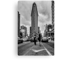 Flatiron Building, Study 1 Canvas Print