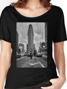 Flatiron Building, Study 1 Women's Relaxed Fit T-Shirt