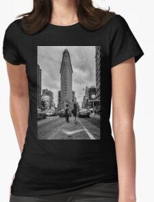Flatiron Building, Study 1 Womens Fitted T-Shirt